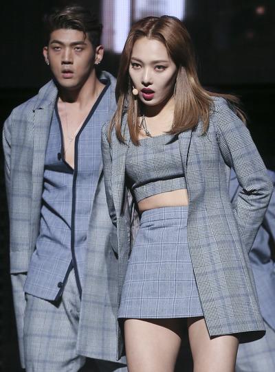 [뉴스핌 포토] 혼성 듀오 '카드' 컴백… 타이틀곡 'You In Me'