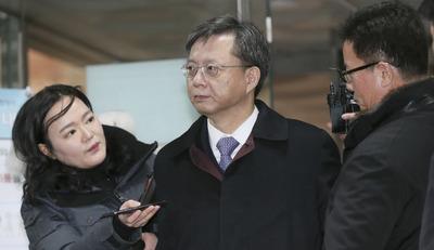 [뉴스핌 포토] 우병우, 권순호 판사 영장심사에 출석