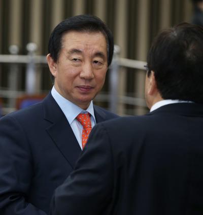 [뉴스핌 포토] 개헌 의원총회 연 한국당