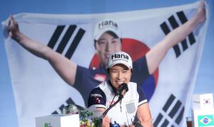 [뉴스핌 포토] '골프 여왕' 박세리, '선수에서 감독으로'