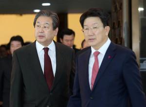 [뉴스핌 포토] '비박계' 박 대통령 탄핵?
