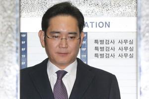 [뉴스핌 포토] 영장실질심사 앞둔 이재용, 특검 출석 '운명의 날'