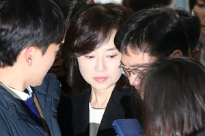 [뉴스핌 포토] 현직장관 사상 첫 구속되나...오늘 조윤선 영장심사