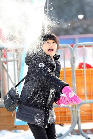 [뉴스핌 포토] 겨울에는 역시 눈!