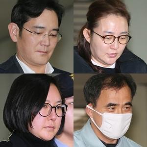 [뉴스핌 포토] 이재용-박채윤-김종-장시호, 특검 소환
