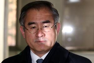 [뉴스핌 포토] 굳은표정의 김상률, '문화계 블랙리스트' 첫 재판 출석