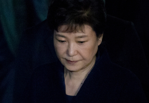 [뉴스핌 포토] 박근혜 영장심사 종료...'구속이냐 불구속이냐'