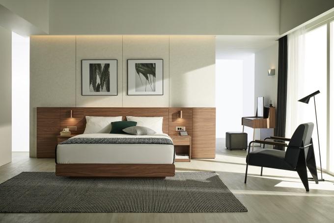 뉴스핌 - 한샘, 호텔 침실 같은 침대 세트 '유로501' 출시