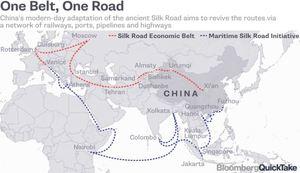 실크로드 아닌 미국으로 달려가는 중국 자본