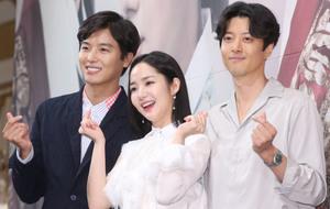 [뉴스핌 포토] '7일의 왕비' 연우진X박민영X이동건, '멜로장인들 다 모였다'