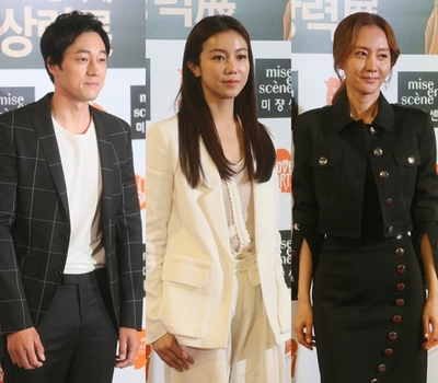 [뉴스핌 포토] 제16회 미쟝센 영화제 개막식 찾은 소지섭-김옥빈-염정아