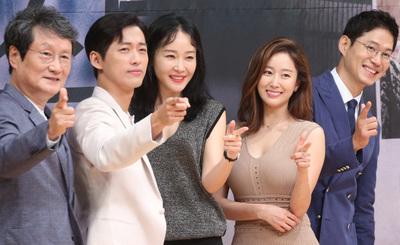 """[뉴스핌 포토] '조작' 남궁민x유준상x엄지원 """"안방극장 뜨겁게 달군다"""""""