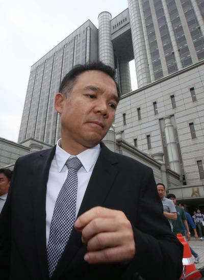[뉴스핌 포토] '넥슨 공짜 주식' 무죄 김정주, 2심서 징역 2년·집행유예 3년