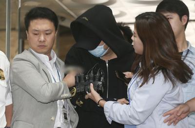 [뉴스핌 포토] '필로폰 투약' 남경필 경기지사 아들 영장실질심사 출석