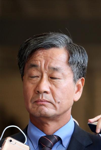 [뉴스핌 포토] '국정원 댓글 공작' 이종명 전 3차장 피의자 소환