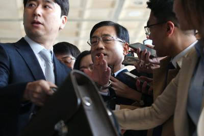 [뉴스핌 포토] '뇌물 혐의' 구은수 전 서울경찰청장 피의자 신분 소환