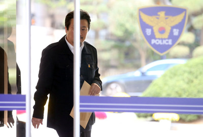 [뉴스핌 포토] '김광석 딸 사망 의혹' 이상호 기자 재소환
