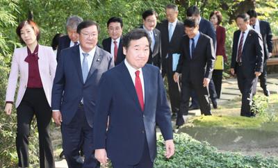 [뉴스핌 포토] 고위당정청, 신고리 5·6호기 건설재개 대응방안 논의