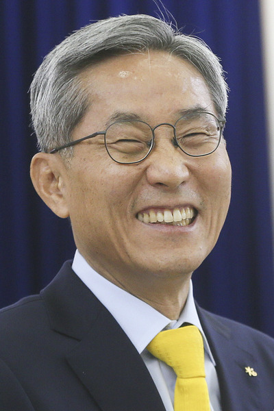 [뉴스핌 포토] KB금융 주총… 윤종규 회장 연임 확정