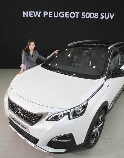 [뉴스핌 포토] 4천만원대 7인승 SUV 'New 푸조 5008' 출시!