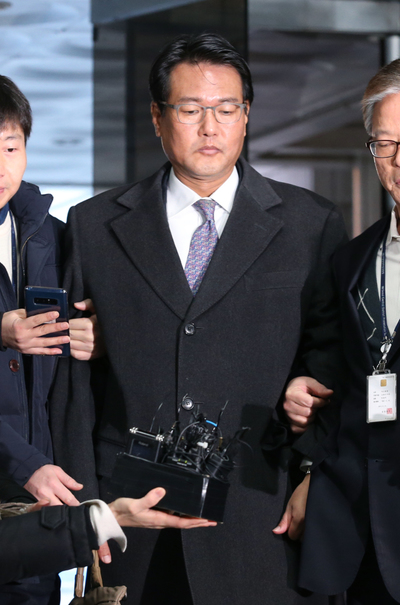 [뉴스핌 포토] MB정권 '군 댓글공작' 김태효 전 비서관 영장심사