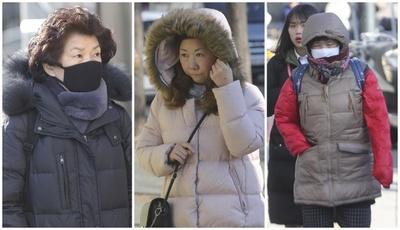 [뉴스핌 포토] '추위에 입김이 저절로' 올 겨울 최강 한파…내일도 영하 17도