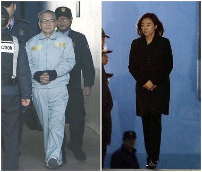 [뉴스핌 포토] 6개월만에 다시 감옥 가는 조윤선