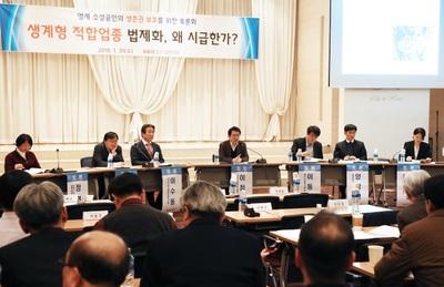 '생계형 적합업종' 2월 임시국회서 논의?…대-중소기업 '평행선'