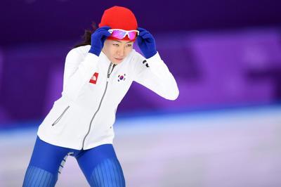 [뉴스핌 포토] 마지막 올림픽 이상화, 500m 3연패 도전!