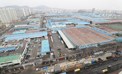 [뉴스핌 포토] 군산 한국GM 폐쇄 선언에 부평도 전운