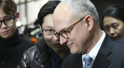 """[뉴스핌 포토] 국회 찾아온 GM 사장 """"한국에 여전히 머물고 싶다"""""""