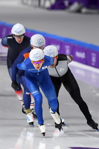 [뉴스핌 포토] 세계 랭킹 1위 이승훈, 매스스타트 결선 진출