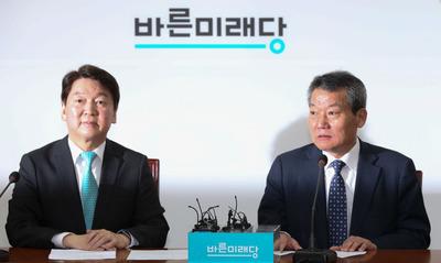 [뉴스핌 포토] 안철수가 뽑은 인재, '송도 특혜' 폭로한 정대유