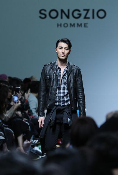 [뉴스핌 포토] 서울패션위크 차승원X배정남X이기우, 관록의 런웨이