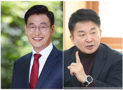 '文의 남자' 문대림vs'합리적 보수 적통' 원희룡…제주지사 선거가 요동친다