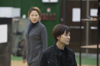 [영상] '엘렉트라' 연습 현장 공개…장영남 vs 서이숙, 카리스마 열연