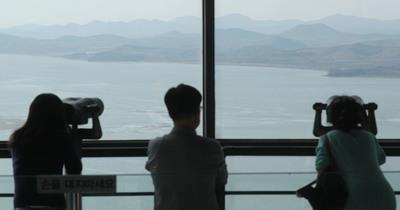 [사진] 가깝고도 먼 북한