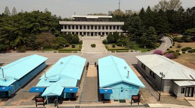 [사진] D-1 남북정상회담, 또 하나의 역사가 만들어질 판문점