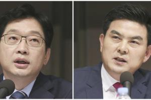 '드루킹 옥중편지' 경남지사 선거 판세 흔든다...김경수 vs 김태호 '사생결단' 대치
