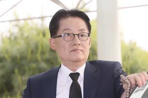 [사진] 故 구본무 LG그룹 회장 빈소 들어서는 박지원 의원