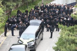 [사진] 故 구본무 LG그룹 회장 발인... '마지막 인사'
