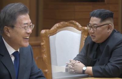 [영상] 2차 '깜짝' 남북정상회담, 문재인·김정은 대화 들어보니..