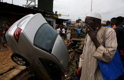 [포토스토리] 코트디부아르 홍수…18명 사망, 500만명 피해