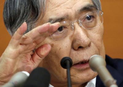 """구로다 BOJ 총재 """"미중 무역전쟁 심히 우려된다"""""""