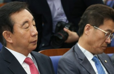 한국당 재건비상행동, 홍준표·김무성에 '정계은퇴' 촉구