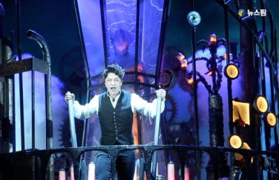 [영상] 뮤지컬 '프랑켄슈타인', 관객을 압도하는 강렬한 무대