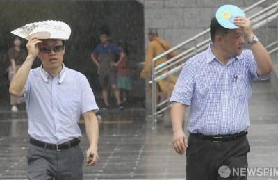 [사진] '소나기를 대처하는 방법!'