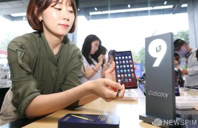 [사진] 삼성 '갤럭시노트9' 13일부터 사전예약…512GB모델은 'S펜 1+1'