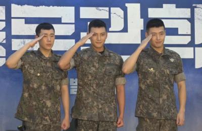 [영상] 지창욱X강하늘X성규, 뮤지컬 '신흥무관학교'에서 뭉쳤다