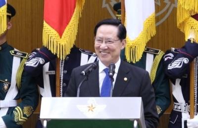[영상] 송영무 전 국방부 장관 이임사